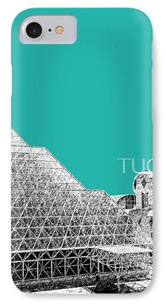 Tucson Biosphere 2 - Teal IPhone Case