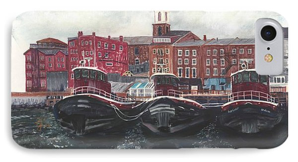 Tugboats Of Portsmouth IPhone Case