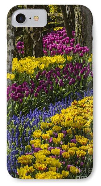 Tulip Beds IPhone Case