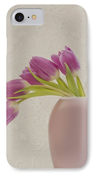 Tulips And Lace IPhone Case