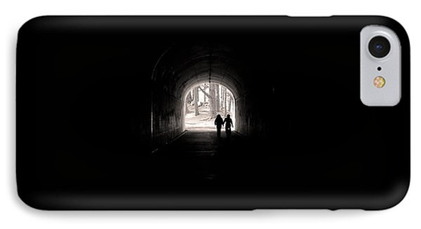 Tunnel At Marin Headlands IPhone Case