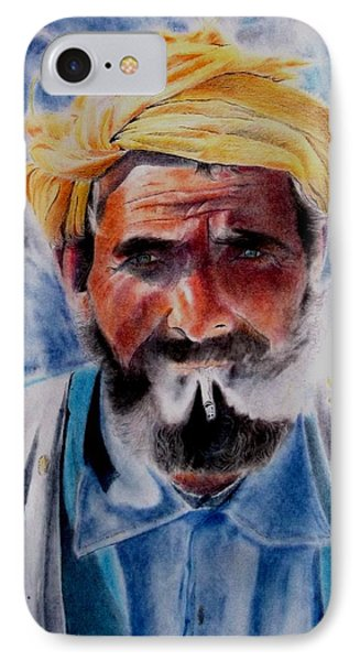 Turkish Smoker In Colour IPhone Case