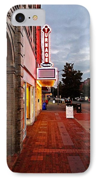 Turnage Theater Grand Opening IPhone Case