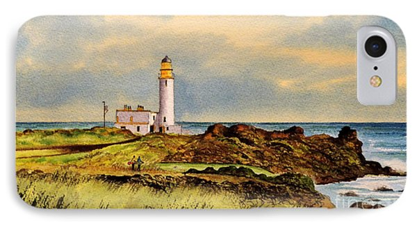 Turnberry Golf Course 9th Tee IPhone Case