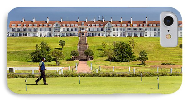 Turnberry Hotel IPhone Case