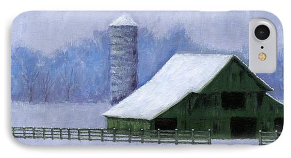 Turner Barn In Brentwood IPhone Case
