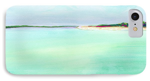 Turquoise Caribbean Beach Horizontal IPhone Case