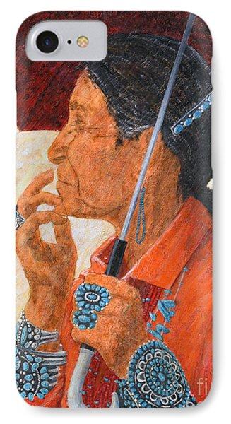 Turquoise Lady IPhone Case