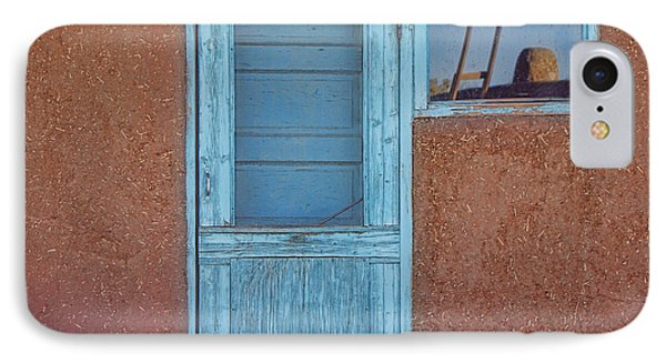 Turquoise Reflection IPhone Case
