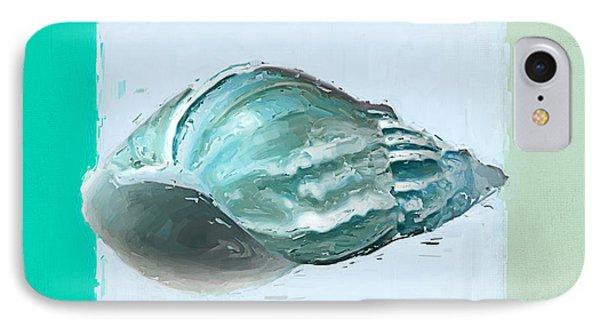 Turquoise Seashells Xiv IPhone Case