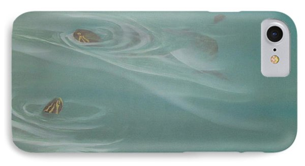 Turtle Pond II IPhone Case