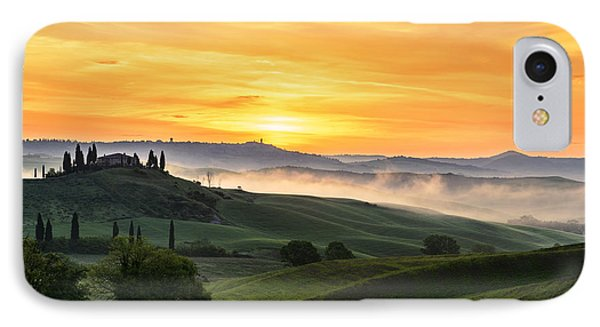 Tuscan Countryside IPhone Case