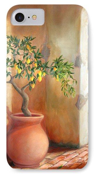 Tuscan Lemon Tree IPhone Case