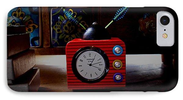 Tv Clock IPhone Case
