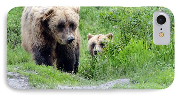 Two Brown Bears IPhone Case