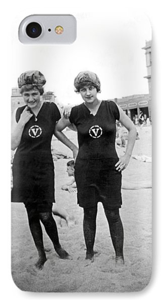 Two Girls At Venice Beach IPhone Case