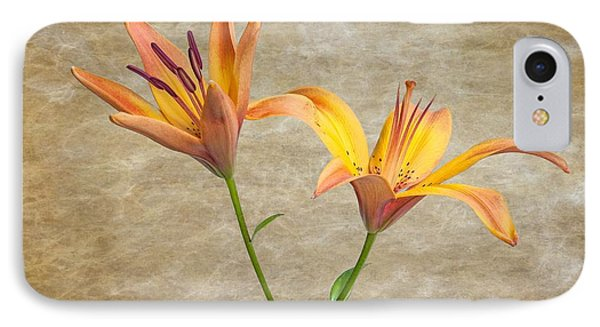 Two Lilies IPhone Case