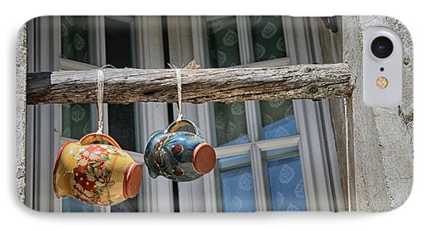 Two Mugs In A Window IPhone Case