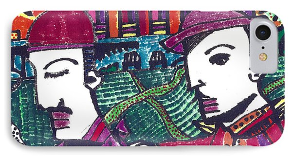 Two Rabbis In Miami IPhone Case