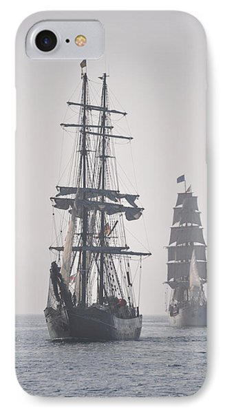 Two Tall Ships In Door County IPhone Case