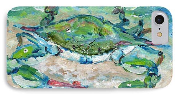 Tybee Blue Crab Mini Series IPhone Case