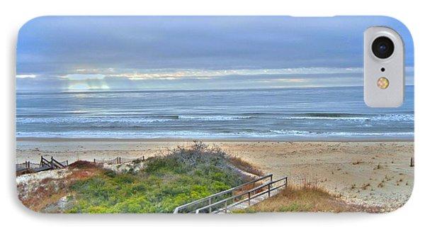 Tybee Island Beach And Boardwalk IPhone Case