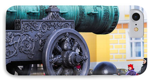 Tzar Cannon Of Moscow Kremlin - Square IPhone Case