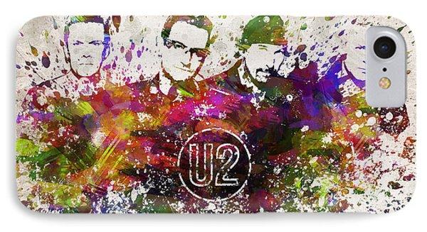 U2 In Color IPhone Case