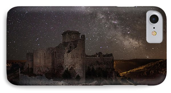 Castle iPhone 8 Case - Ucero Castle by Martin Zalba
