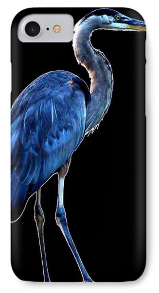 Ultra Blue - Heron Photo IPhone Case