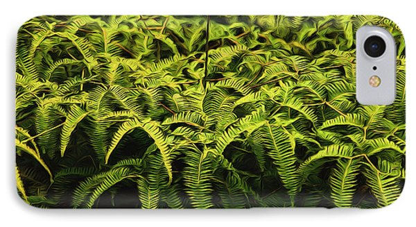Uluhe Fern II IPhone Case