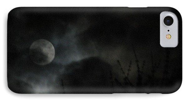 Under A Metal Moon IPhone Case
