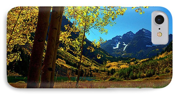 Under Golden Trees IPhone Case