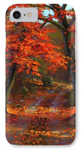Under The Blazing Canopy IPhone Case