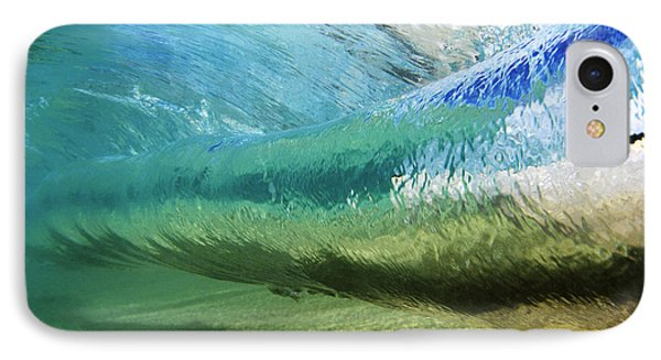 Beautiful Nature iPhone 8 Case - Underwater Wave Curl by Vince Cavataio - Printscapes