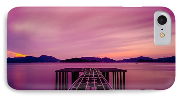 Unfinished Pier At Sunset IPhone Case