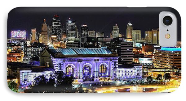 Union Station In Purple IPhone Case
