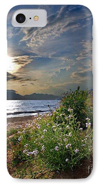Unique Sunset Over Bay IPhone Case