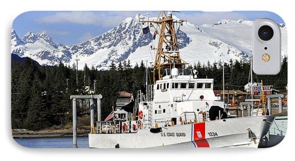 United States Coast Guard Cutter Liberty IPhone Case