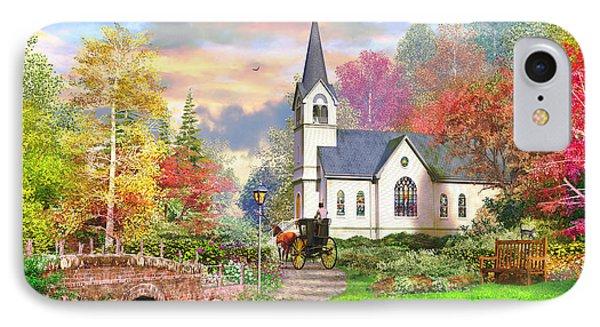 Autumnal Church IPhone Case