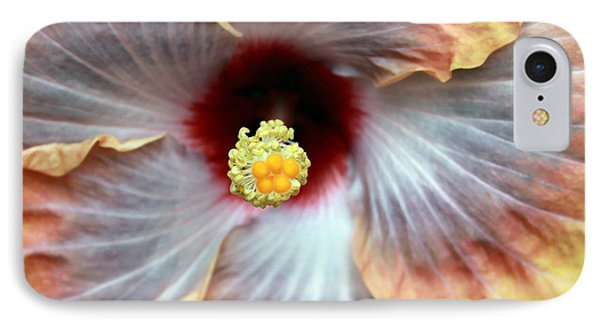 Up Close Hibiscus IPhone Case