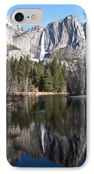 Upper Yosemite Fall IPhone Case
