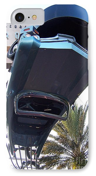 Upside Down Car IPhone Case