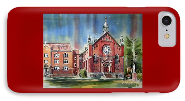 Ursuline Academy With Doves IPhone Case
