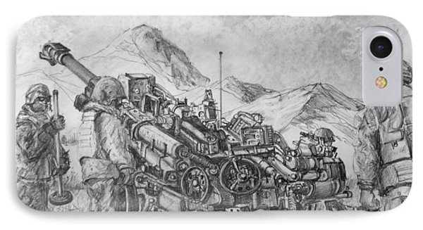 Us Army M-777 Howitzer IPhone Case