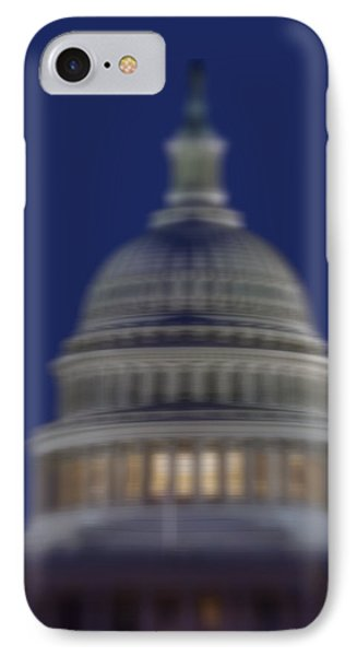 Us Capitol Building Reflection IPhone Case