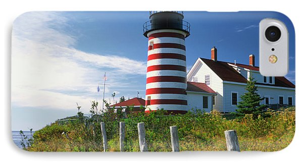 Usa, Maine, Lubec IPhone Case