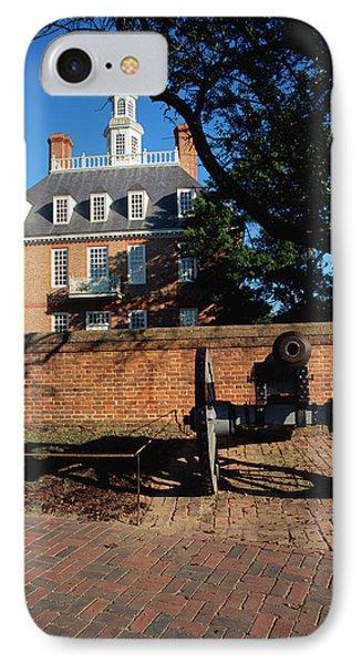 Usa, Virginia, Williamsburg, Cannon IPhone Case