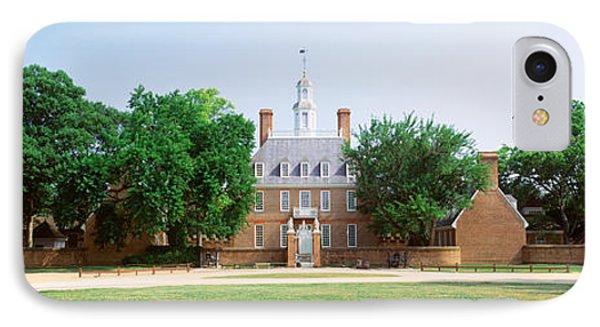 Usa, Virginia, Williamsburg, Governors IPhone Case