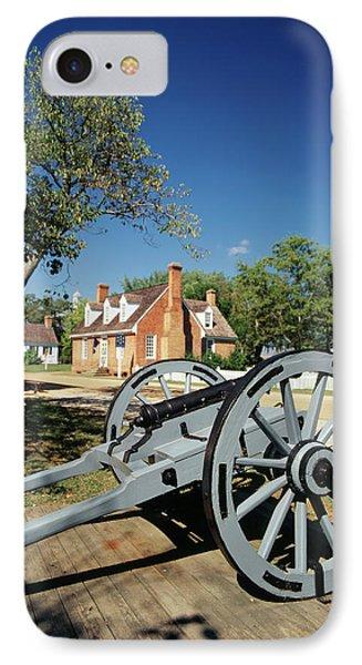 Usa, Virginia, Yorktown, Cannon IPhone Case